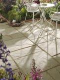 πλάκες patio Στοκ φωτογραφία με δικαίωμα ελεύθερης χρήσης