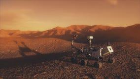 Πλάνης ανακαλύψεων της NASA Άρης ελεύθερη απεικόνιση δικαιώματος