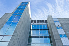 πλάνο γραφείων οικοδόμησης γωνίας Στοκ φωτογραφία με δικαίωμα ελεύθερης χρήσης