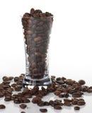 πλάνο γυαλιού καφέ Στοκ εικόνα με δικαίωμα ελεύθερης χρήσης