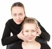 πλάνο διαδικασίας 6 makeup Στοκ εικόνα με δικαίωμα ελεύθερης χρήσης