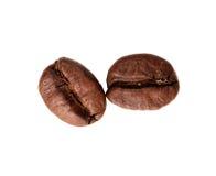 πλάνο καφέ φασολιών Στοκ Εικόνα