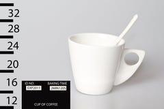 πλάνο κουπών καφέ Στοκ Εικόνες
