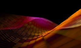 Πλέγμα ή καθαρός με τη λεπτομέρεια γραμμών και μορφών geometrics τρισδιάστατη απεικόνιση διανυσματική απεικόνιση