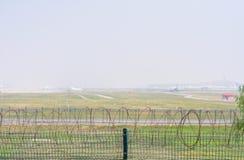 Πλέγμα καλωδίων στον αερολιμένα στοκ φωτογραφίες με δικαίωμα ελεύθερης χρήσης