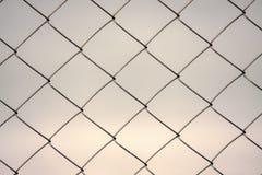 Πλέγμα καλωδίων φραγών Στοκ φωτογραφία με δικαίωμα ελεύθερης χρήσης