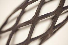 πλέγμα σιδήρου λεπτομέρ&epsilon Στοκ εικόνα με δικαίωμα ελεύθερης χρήσης