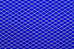 Πλέγμα στο μπλε στοκ φωτογραφία με δικαίωμα ελεύθερης χρήσης