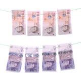 πλένοντας χρήματα Στοκ εικόνα με δικαίωμα ελεύθερης χρήσης