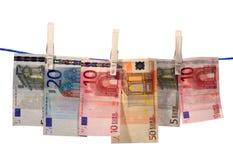 πλένοντας χρήματα Στοκ φωτογραφία με δικαίωμα ελεύθερης χρήσης