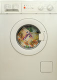 πλένοντας χρήματα Στοκ Φωτογραφίες