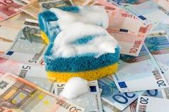 πλένοντας χρήματα Στοκ Εικόνα