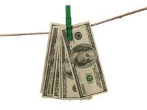 πλένοντας χρήματα Στοκ εικόνες με δικαίωμα ελεύθερης χρήσης