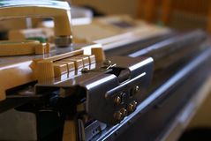 πλέξτε τη μηχανή Στοκ φωτογραφία με δικαίωμα ελεύθερης χρήσης