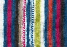 πλέξτε το μαλλί προτύπων Στοκ εικόνες με δικαίωμα ελεύθερης χρήσης