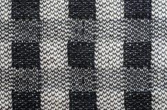 Πλέξτε το υπόβαθρο κινηματογραφήσεων σε πρώτο πλάνο σύστασης υφάσματος Στοκ Φωτογραφίες