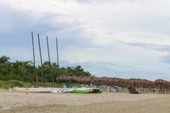 Πλέοντας καταμαράν χωρίς πανιά στην παραλία, Κούβα, Varadero Στοκ φωτογραφίες με δικαίωμα ελεύθερης χρήσης