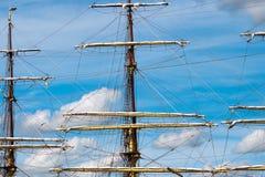 πλέοντας σκάφος ιστών Στοκ εικόνες με δικαίωμα ελεύθερης χρήσης