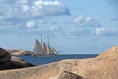 πλέοντας σκάφος Στοκ Εικόνες