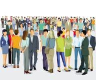 Πλήθος, μεγάλη ανθρώπινη Κοινότητα στοκ εικόνα με δικαίωμα ελεύθερης χρήσης