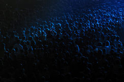 Πλήθος σε μια αίθουσα συναυλιών στοκ εικόνες με δικαίωμα ελεύθερης χρήσης