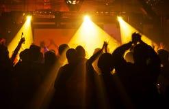 πλήθος συναυλίας Στοκ φωτογραφίες με δικαίωμα ελεύθερης χρήσης