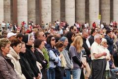 πλήθος Peter s τετραγωνικό ST Στοκ Εικόνα
