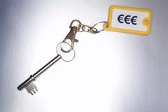Πλήκτρα με το keychain Στοκ Εικόνα