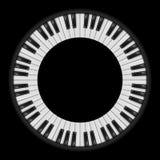 Πλήκτρα πιάνων ελεύθερη απεικόνιση δικαιώματος