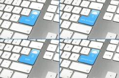 πλήκτρα υπολογισμού σύνν&e Στοκ φωτογραφία με δικαίωμα ελεύθερης χρήσης
