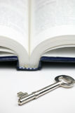 πλήκτρο βιβλίων Στοκ εικόνα με δικαίωμα ελεύθερης χρήσης