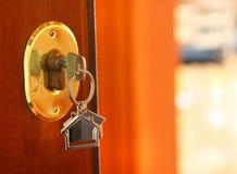 πλήκτρο πορτών Στοκ Φωτογραφία