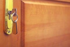 Πλήκτρο πορτών Στοκ φωτογραφία με δικαίωμα ελεύθερης χρήσης