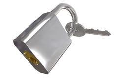 πλήκτρο που κλειδώνετα&iot Στοκ Εικόνα