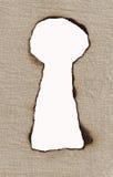 πλήκτρο τρυπών Στοκ εικόνα με δικαίωμα ελεύθερης χρήσης