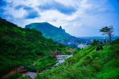Πλήρες έδαφος ομορφιάς scape με τη φύση στοκ φωτογραφίες με δικαίωμα ελεύθερης χρήσης