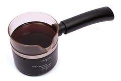 πλήρες δοχείο καφέ στοκ εικόνα με δικαίωμα ελεύθερης χρήσης
