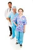 πλήρες ιατρικό προσωπικό &sigm Στοκ εικόνες με δικαίωμα ελεύθερης χρήσης