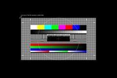 Πλήρες πρότυπο δοκιμής HD. ελεύθερη απεικόνιση δικαιώματος