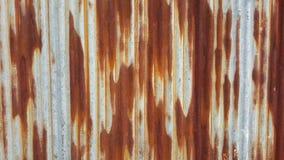 Πλήρες σκουριασμένο φύλλο μεταλλινών Στοκ φωτογραφία με δικαίωμα ελεύθερης χρήσης