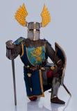 πλήρης ιππότης τεθωρακισμένων μεσαιωνικός Στοκ Εικόνα