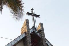 Πλήρης σταυρός Ευαγγέλιου στοκ εικόνες