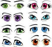 πλήρη συρμένα μάτια που τίθε απεικόνιση αποθεμάτων