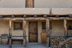 πλίθα - ιστορικό παλαιό καμμμένο οχυρό Κολοράντο ` s Στοκ εικόνες με δικαίωμα ελεύθερης χρήσης