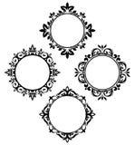 πλαίσια κύκλων Στοκ εικόνες με δικαίωμα ελεύθερης χρήσης