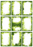 πλαίσια συνόρων πράσινα Στοκ φωτογραφία με δικαίωμα ελεύθερης χρήσης