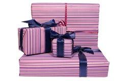 πλαίσια τέσσερα δώρο Στοκ Εικόνες