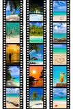 πλαίσια ταινιών το ταξίδι φ&om Στοκ φωτογραφία με δικαίωμα ελεύθερης χρήσης