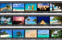 πλαίσια ταινιών το ταξίδι φ&om Στοκ Εικόνες