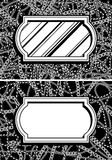 πλαίσιο αλυσίδων Στοκ εικόνες με δικαίωμα ελεύθερης χρήσης